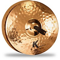 Zildjian K Symphonic Orchestral Light Brilliant Crash Cymbal Pair 18 In. Brilliant