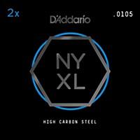 D'addario Nyxl Plain Steel .010Ga (2-Pack)