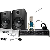 Tascam Us-4X4 Mxl 4000 And M Audio Bx8 Recording Package 1