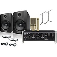 Tascam Us-2X2 Mxl 990/991 M-Audio Bx8 Recording Package