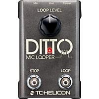 Tc Helicon Ditto Mic Looper  ...