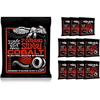 Ernie Ball 2730 Cobalt 7-String Skinny Top Heavy Bottom Electric Guitar Strings Buy 10, Get 2 Free