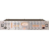 Avalon Vt-737Sp Pure Class A Mono Vacuum Tube Channel Strip Silver