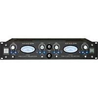 Avalon Ad2022 Pure Class A Dual Mono Microphone Preamplifier & Di Black