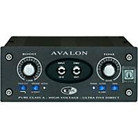 Avalon U5 Pure Class A Mono Instrument Di-Preamplifier Black