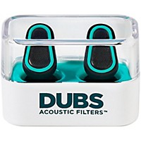 Doppler Labs Dubs Acoustic Filters Advanced Tech Earplugs Teal