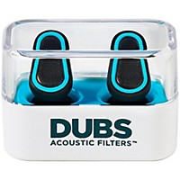 Doppler Labs Dubs Acoustic Filters Advanced Tech Earplugs Blue