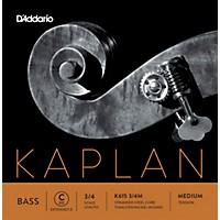 D'addario Kaplan Series Double Bass C (Extended E) String 3/4 Size Medium