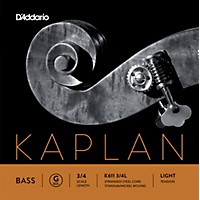D'addario Kaplan Series Double Bass G String 3/4 Size Light