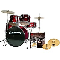 Ludwig Accent Combo 5-Piece Drum Set With  ...