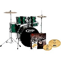 Pdp Z5 5-Piece Drumset With Meinl Cymbals  ...
