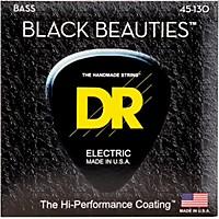 Dr Strings Black Beauties  Black Coated  ...
