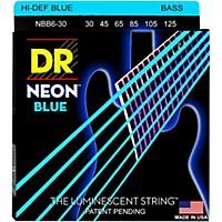Dr Strings Hi-Def Neon Blue Coated 6-String  ...