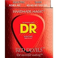 Dr Strings Red Devils  Red Coated Lite  ...