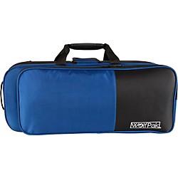 Wolfpak Colors Series Lightweight Polyfoam Trumpet Case Blue