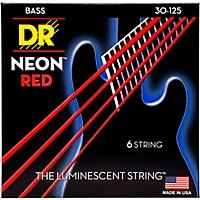 Dr Strings Hi-Def Neon Red Coated Medium  ...