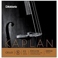 D'addario Kaplan Series Cello G String 4/4 Size Medium