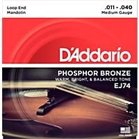 D'addario Ej74 Phosphor Bronze Medium  ...