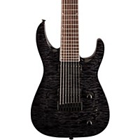 Jackson Slathx 3-8 Quilted Maple Top 8-String Electric Guitar Transparent Black