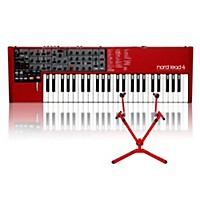 Nord Lead 4 With Matching 2-Tier Keyboard Stand