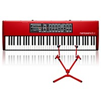 Nord Piano 2 Hp73 With Matching 2-Tier Keyboard Stand