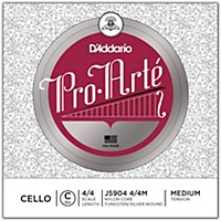 D'addario Pro-Arte Series Cello C String 4/4 Size