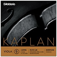 D'addario Kaplan Series Viola G String 16+ Long Scale Medium
