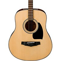Ibanez Performance Pft2-Nt Mini Dreadnought Acoustic Tenor Guitar Natural