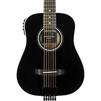 Traveler Guitar Ag-200Eq Acoustic-Electric Travel Guitar Black