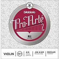 D'addario Pro-Arte Series Violin String Set 4/4 Size