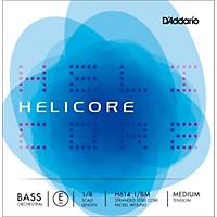 D'addario Helicore Orchestral Series Double Bass E String 1/8 Size
