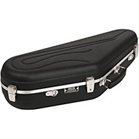 Hiscox Cases Artist Series Alto Saxophone Case Black Shell, Silver Interior