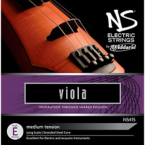 D'addario Ns Electric Viola High E String