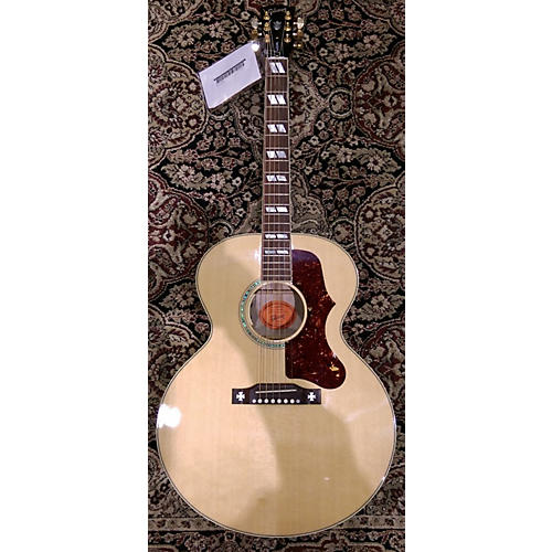 Gibson J185 Custom Shop Quilt A/E Acoustic Electric Guitar