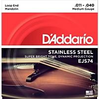 D'addario Ejs74 Stainless Steel Medium  ...