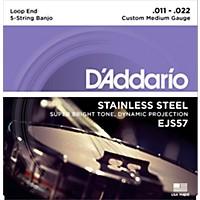 D'addario Ejs57 Stainless Steel Custom  ...