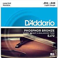 D'addario Ej72 Phosphor Bronze Light Mandola Strings (14-49)