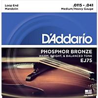 D'addario Ej75 Phosphor Bronze Medium/Heavy  ...