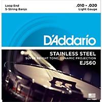 D'addario Ejs60 Stainless Steel Light  ...