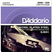 D'addario Ej60+ Nickel Light Plus 5-String  ...