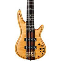 Ibanez Premium Sr1406te 6-String Electric Bass Guitar Natural
