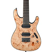 Ibanez S Series S7721pb 7-String Electric Guitar Flat Natural