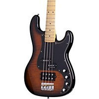Schecter Guitar Research Diamond-P Plus Electric Bass Guitar Dark Vintage Sunburst