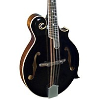 Kentucky Km-1000B Master F-Model Mandolin Black Top, Sunburst Back And Sides