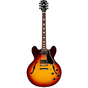 Gibson 2015 Es-335 Figured Semi-Hollow Electric Guitar Sunset Burst