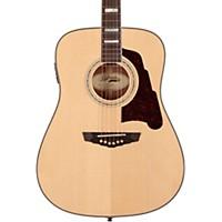 D'angelico Lexington Dreadnought Acoustic-Electric Guitar Natural