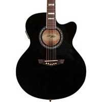 D'angelico Madison Jumbo Cutaway Acoustic-Electric Guitar Black