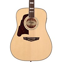 D'angelico Lexington Dreadnought Left-Handed Acoustic-Electric Guitar Natural