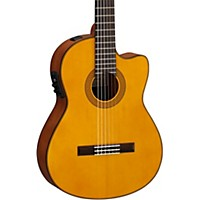 Yamaha Cgx122msc Solid Spruce Top  ...