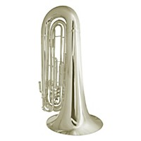 King Sb50 4-Valve Marching Bbb Tuba Sb50sp Silver